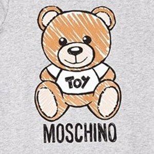 低至4折+额外7.5折Moschino童装热卖  大童款成人可穿