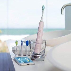 $179.99(原价$269)+4个刷头补货:Philips Sonicare 智能 9500 钻石亮白电动牙刷 HX9924