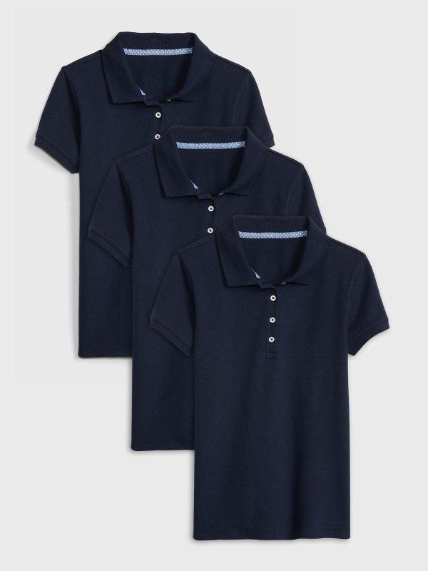 儿童、大童Polo衫 3件