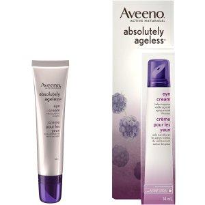 $13.95(原价$25.99) 5.3折史低价:Aveeno 抗老去皱眼霜 含黑莓植物萃取 淡化黑眼圈