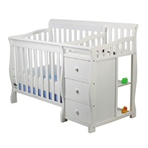 As Low As $14.99Dream On Me Jayden 4-in-1 Mini Convertible Crib And Changer & More @ Amazon