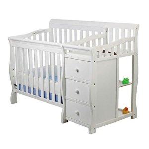 低至$14.99 史低价5合1婴儿床补货史低价:Dream On Me 4合1多功能婴儿、儿童床、床垫、安全护栏等特卖