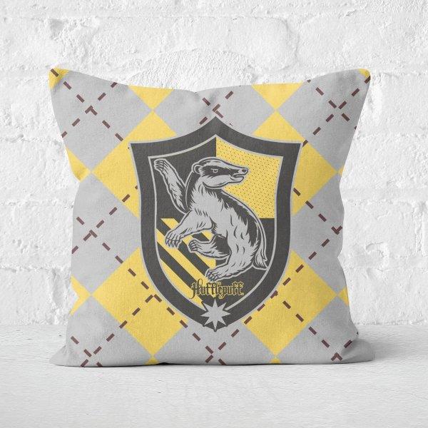 Hufflepuff Square Cushion