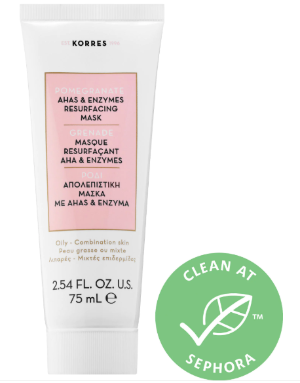 Pomegranate AHA & Enzymes Resurfacing Mask - KORRES | Sephora