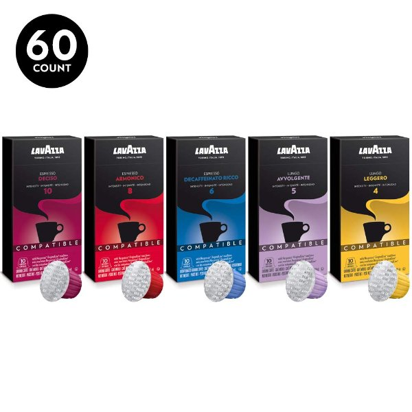 Nespresso 综合口味咖啡胶囊 60颗