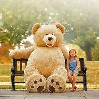 超大熊熊玩具