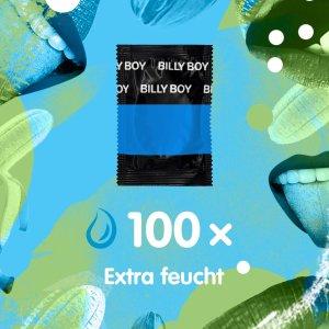 一片仅需两毛五Billy Boy 比利男孩(哲学♂致敬?) 特别湿型号 小雨伞 100片 €24.99 德国制造