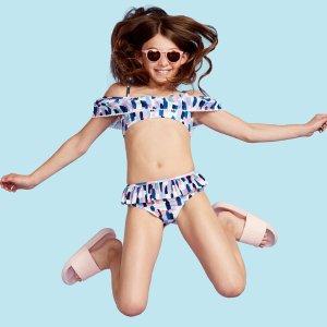 低至3折+免邮Century 21 儿童泳衣促销  Juicy Couture泳衣好美丽