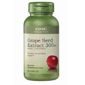 Ending Soon: 12.49GNC Herbal Plus® Grape Seed Extract 300MG 100 Capsules