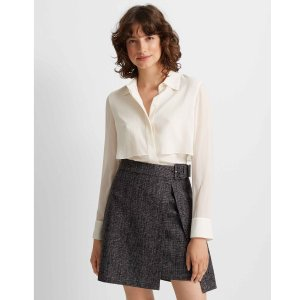 Club MonacoWrap Mini Skirt