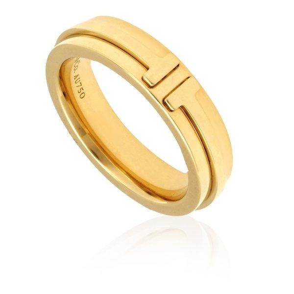 T 18kt金戒指- Size 4.5