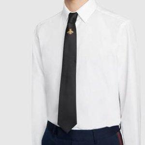 低至5折+满减 £87收Gucci领带大牌领带惊喜大促  Gucci、BBR、菲拉格慕都在线