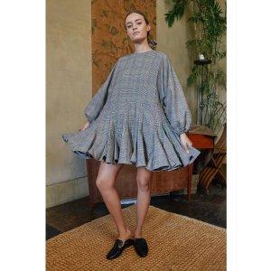 Ella Dress | Choc Plaid