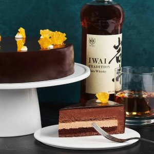 $125Lady M x Iwai Tradition Whisky Dark Chocolate Cake