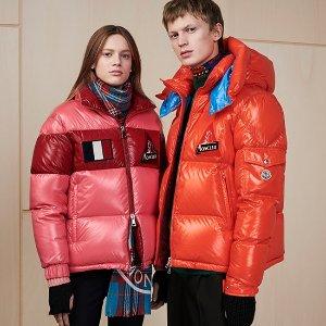 低至2折 £500收面包服羽绒服独家:Moncler 服饰专场特卖 超多款式 明星同款也有 冬季囤起来
