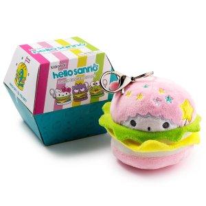 KidrobotHello Sanrio Plush Burger Charms by Kidrobot