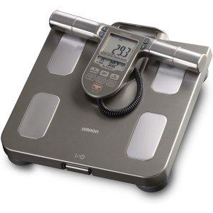 $119.99收 健身人士必备OMRON 欧姆龙 OMRHBF514C 身体体重脂肪测量器