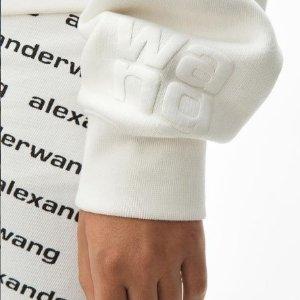 全部8折!£160收logo短袖Alexander Wang 惊喜上新 断根鞋、logo短袖全部参与