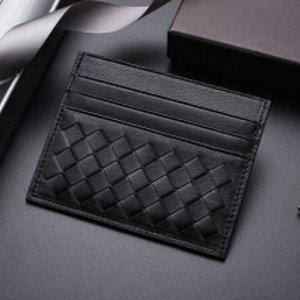 变相6.8折+包邮 定价优势Bottega Veneta 卡包钱包 $280(原价$407)收经典编织卡包