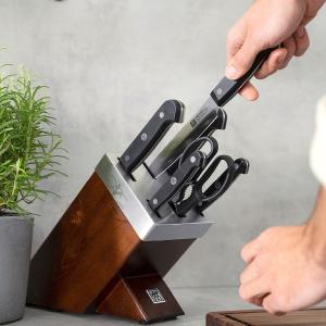订阅立享9折 €179收四星7件套Zwilling 双立人刀具套组 多用刀、面包刀、蔬果刀、剪刀全都有