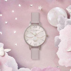 买就送价值$61.25超美戒指Olivia Burton 英伦代表性少女心手表热卖