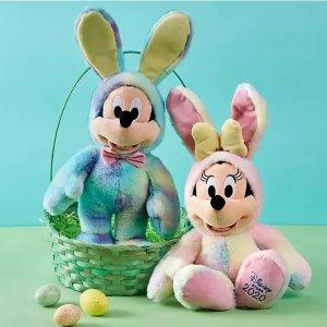 3.3折 现价€10 (原价€30)折扣升级:Disney官网 复活节限定玩偶公仔热卖