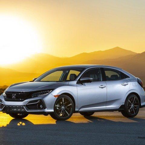蝉联3年美国汽车销量王新思域在这里 2020 Honda Civic Hatchback 更新发布