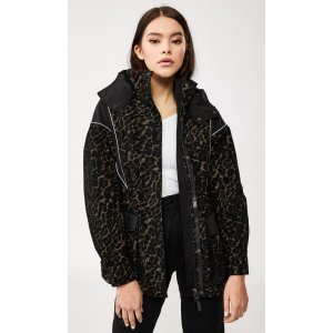 Mackageoversized jacket with removable down lining