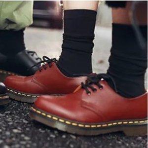Dr Martens8折,剩37-46,2色可选3孔皮鞋