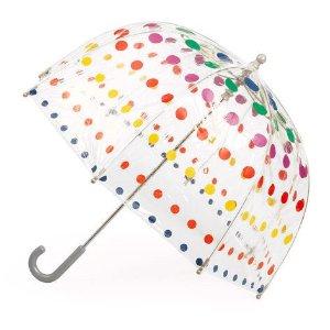 Totes儿童波点泡泡伞