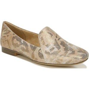 NaturalizerEmiline浅金豹纹乐福鞋