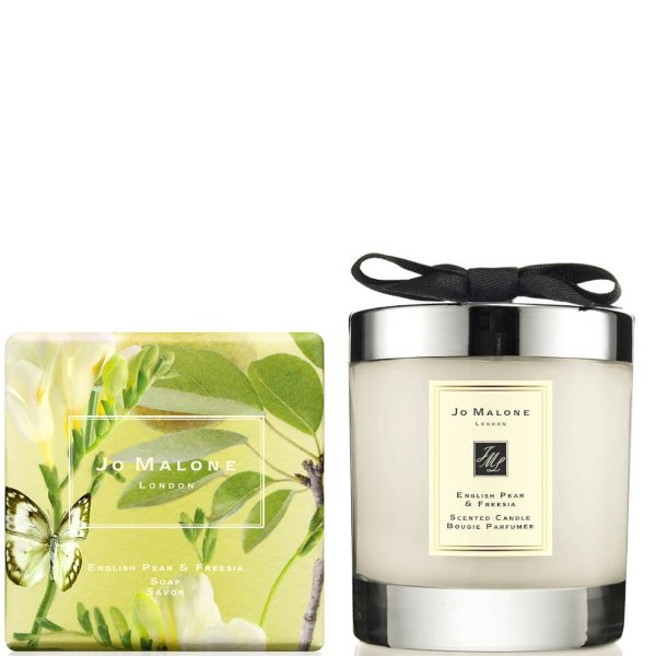 英国梨蜡烛+香皂