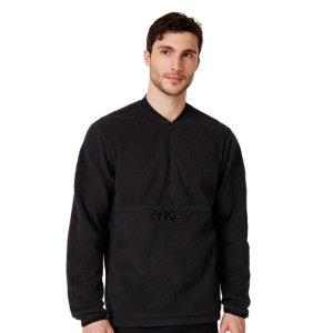 OakleyFluffy Half Zip Jacket - Blackout - 412797-02E |US Store