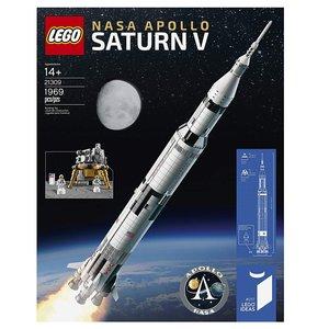 $118.99(原价$149.99)史低价:LEGO乐高 NASA 阿波罗土星五号 21309