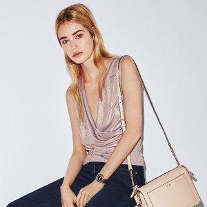 低至4折+额外7折DKNY 美衣折上折促销特卖