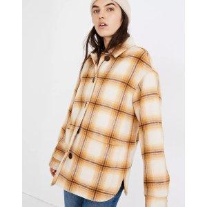 Madewell格子外套