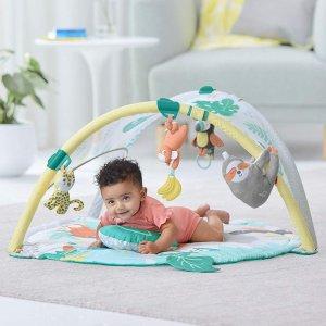 $105.99包邮 (原价$117.70)Skip Hop 高颜值婴儿健身架 游戏毯 智益开发一秒都不能等