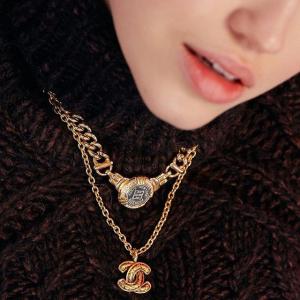 £200收Dior桃心logo手链Open for Vintage 二手精品首饰专场 收香奈儿、Dior、Tiffany、Cartier等