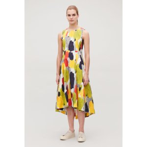 COSMULTICOLOURED LONG DRESS