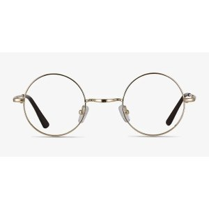EyeBuyDirectAbazam - Round Golden Frame Glasses | EyeBuyDirect