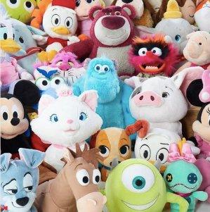 第二件只要$3+包邮折扣升级:迪士尼官网毛绒玩具热卖 68cm超大玩偶也参加
