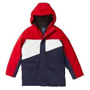 封面外套$36.65 (原价$110)Nautica 2-16岁儿童冬日服饰清仓,折上低至额外4折