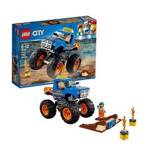 $12.99(原价$19.99)史低价:LEGO City 系列 巨轮越野车 60180