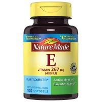 Nature Made 维生素 E 400 I.U.