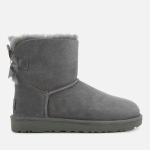 UGG蝴蝶结绑带雪地靴