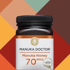 低至3折 £25入30MGO蜂蜜1kg11.11独家:Manuka Doctor官网折扣区闪促 好肠胃、好气色喝出来