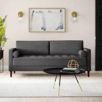 时尚灰色扶手沙发