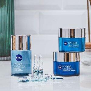 低至3.4折 €1.83收黑头贴NIVEA 妮维雅护肤热促 收抗老、美白、72小时补水系列