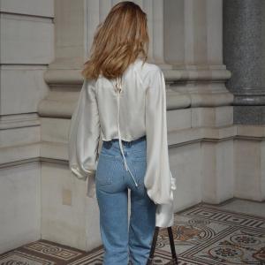 低至4折 Frame破洞裤$283起Luisaviaroma 设计师牛仔裤专场,修饰腿型还好穿