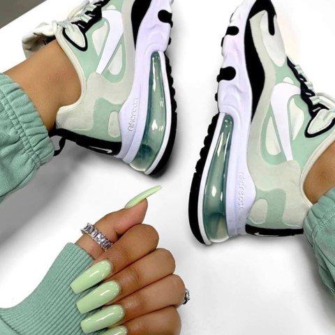 Nike清爽夏天 在你眼里的那一抹牛油果绿 清爽到我心坎儿里